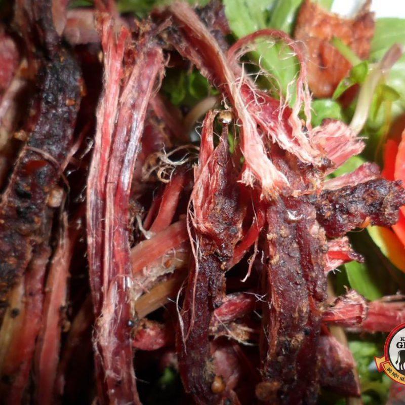 Thịt bò gác bếp Gia Lai